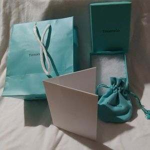 Tiffany & Co. Small Gift bag, box, pouch